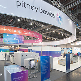 Pitney Bowes Stand, drupa 2016